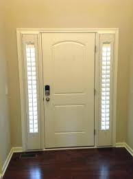 window treatments for front doors with glass window treatments for doors with half glass full glass