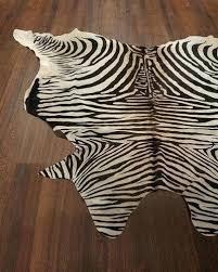 real zebra rug zebra skin rugs for south lux print rug 6 x 7 animal