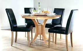 round dining table and chairs kitchen chair sets contemporary modern