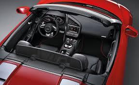 black audi r8 interior. audi r8 spyder black interior r