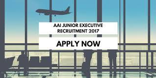 Image result for AAI Recruitment 2017 - 200 Vacancies for Junior Executives