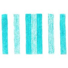 aqua bath rug rugs wonderful striped grandeur stripe mat white target light colored mats bathroom dark
