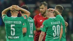 Werder bremen und der 1. Werder Bremen Facing Relegation From The Bundesliga What Has Gone Wrong For 2004 Double Winners Football News Sky Sports