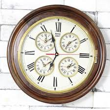 vintage royal navy world wall clock