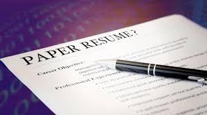 Modern Way To Present A Hardcopy Resume Do You Still Use A Paper Resume