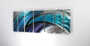 Flagrant Abstract Metal Wall Art Right Large Metal Wall Art Panels Abstract  Art By Dv Studio