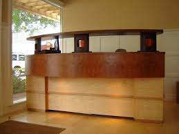 furniture contemporary elegant teak office desk designs home sale awesome brown credenza polished curved home awesome custom reclaimed wood office desk