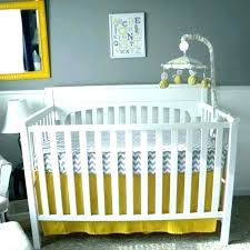 navy blue grey baby room and yellow crib bedding nursery gray thrift blue green grey baby