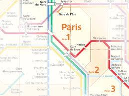 paris transportation zone map paris