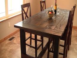 Diy Kitchen Table Kitchen Homemade Kitchen Table Farmhouse Table With Bench