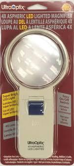 9781880059715 Ultraoptix 4x Aspheric Led Lighted Magnifier