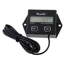 hobbs hour meter wiring diagram hobbs image wiring amazon com kedsum hour meter tachometer 2 4 stroke small engine on hobbs hour meter wiring
