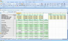 spreadsheet for business plan business plan template with financial projec forecast excel