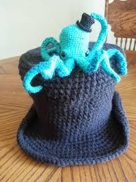 Crochet Octopus Hat Pattern Impressive Crochet Pattern Octopus Hat Dancox For