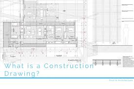 what is a construction drawing first