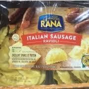 rana italian sausage ravioli calories