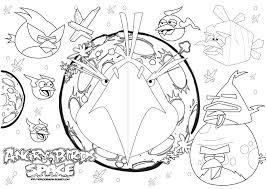 Angry Birds Space Coloring Pages - Bltidm