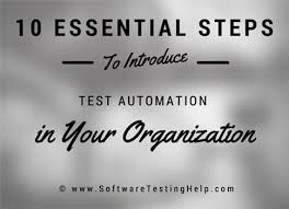 start test 10 step automation testing process how to start automation testing