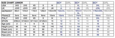 Size Chart Clothes Kids Www Bedowntowndaytona Com
