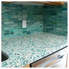glass countertops for kitchens cost recycled