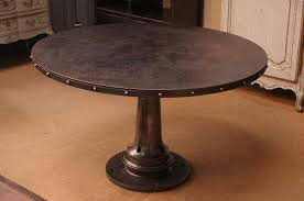 french industrial furniture. Glamorous Combine 9 Industrial Furniture Vintage Round Table In Dining French