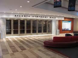atlanta symphony hall atlanta tickets schedule seating chart directions