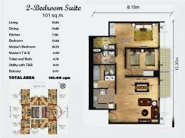 Elara Las Vegas 2 Bedroom Suite Premier Gallery Image Of This Property  Bedroom Decorative Lights .