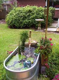 56 awesome mini ponds to complete your