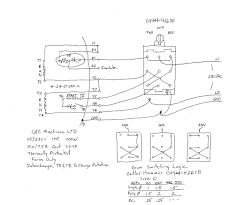 Help with wiring a drum switch for 220v motor showy cutler hammer