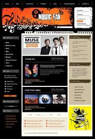 Music Newsletter Templates Music Portal Joomla Template 20148