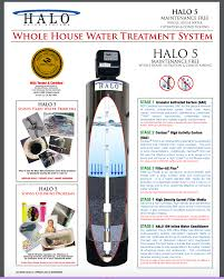 Household Water Filter System Halo Water Systems Tankless Water Heater