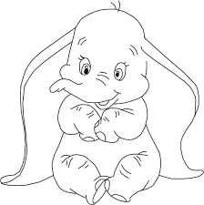 Small Picture New Dumbo Coloring Pages 70 For Coloring Books with Dumbo Coloring