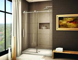 sliding door shower enclosures sleek sliding door showers images nice little niche for the shower enclosure