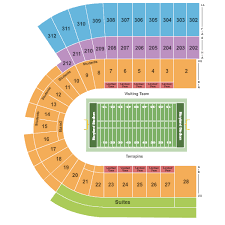 maryland stadium seating chart maps