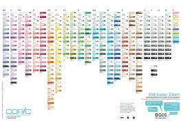 Copic Chart Understanding Copics And How To Get Started Stephanie Han Art