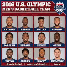 team usa basketball roster cheap online