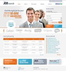 job template info job portal website template 28883