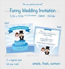 17 Funny Wedding Invitation Templates Free Sample Example Format