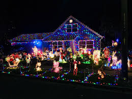Walnut Court Santa Rosa Christmas Lights Holiday Lights Add Magic To Napa County Homes Home And