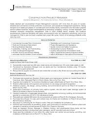 Sample Project Manager Resume Objective Project Manager Resume Objectives 29