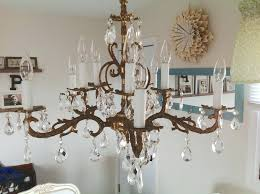 how to clean a chandelier glass