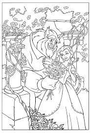 Disney Beauty And The Beast Coloring