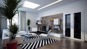 black white chevron rug  interior design ideas