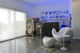 inspiring home mini bar design with wall mounted