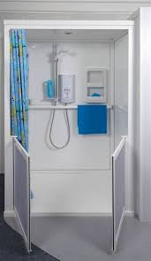 free standing shower cubicles