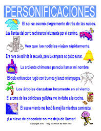 sample of personification best images about poetic techniques  the world s most recently posted photos by the writing doctor personificaciones spanish classroom poster the sample of personification lighting