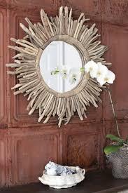 sunburst mirror driftwood mirror