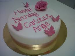 Pink Butterfly Birthday Cake Fancycakesbenidorm