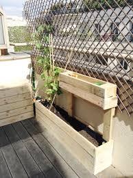 Diy Jardini Res En Palettes De Bois Jardiniere En Palette