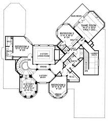 luxury european home with 4 bedrooms, 4500 sq ft house plan House Plans Over 5000 Square Feet upper level floor plan home plans over 5000 square feet